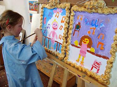 Portret Kinderfeestjes Kinderfeestje Kinderfeest Kinderfeestje Schilderen hQrxBotdsC