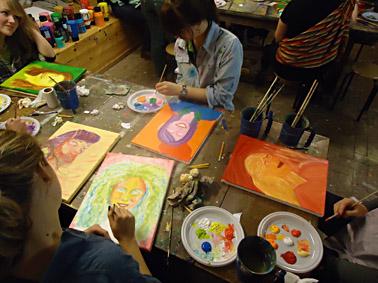 Workshops Schilderen Op Elke Lokatie In Nederland En Belgie